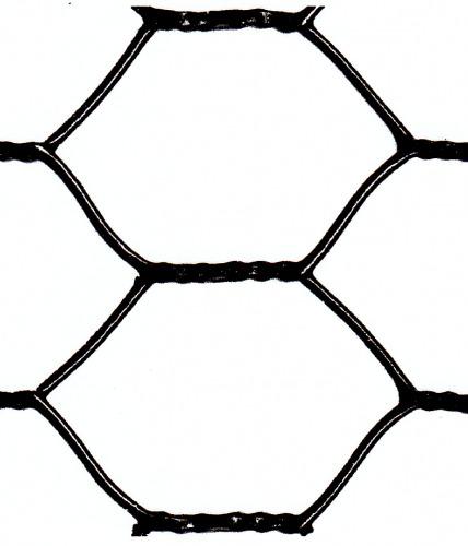 17 gauge 1-1/2 inch hex netting
