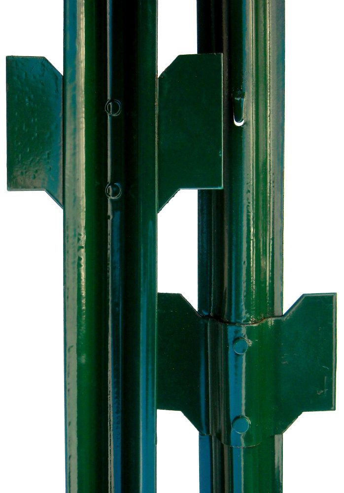 U fence post green PVC