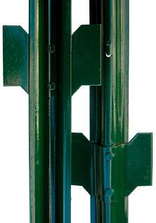 U fence post green PVC