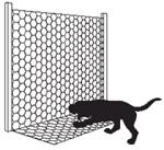 apron fence