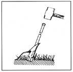 Duckbill Earth Anchor installation