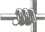 hinge joint fence knot
