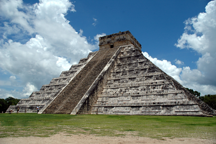 Mayan temple after world ends 12.21.12