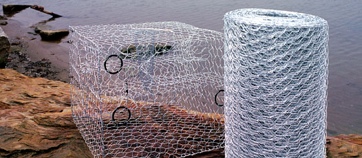 Crab Pot Wire | Heavy Chicken Wire Fence