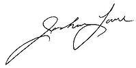 Josh Lane signature