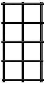 """12.5 gauge 1""""x1"""" black vinyl coated welded wire fence materials"""