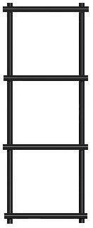 """12.5 gauge 1-1/2""""x1-1/2"""" black vinyl coated welded wire fence materials"""
