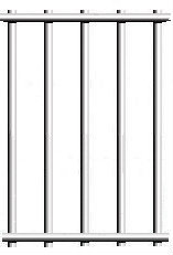 """12-1/2 gauge 1/2""""x3"""" galvanized after welded wire fence material"""