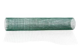 green vinyl coated mesh
